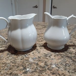 Other - Ceramic creamer and milk pitcher